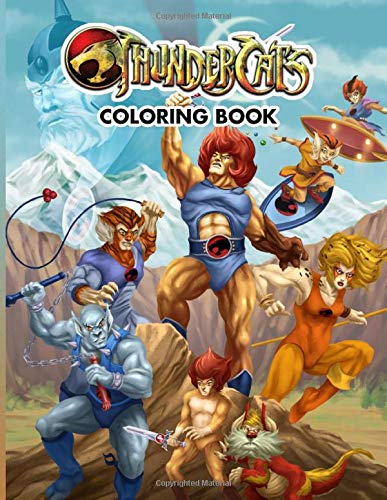 Thundercats Colouring Book. 110 pages of Retro fun for kids and adults