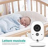 Zoom IMG-2 baby monitor videocamera boifun con