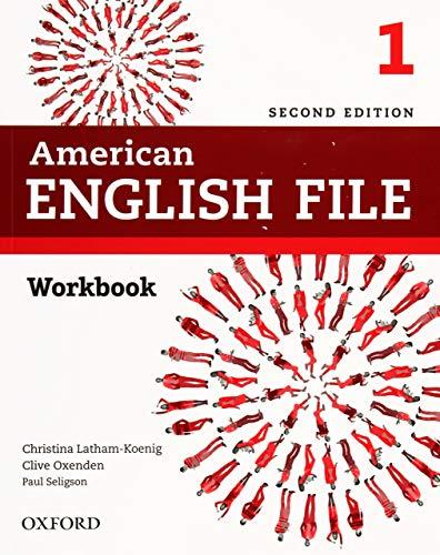 American English File 1 Workbook - 02Edition