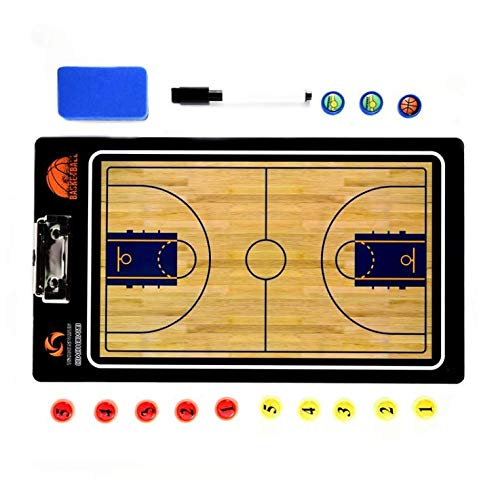 Buy LIJIANGUO Basketballer Tactics Board Professional Basketball Coaching Board Coaches Clipboard Dr...