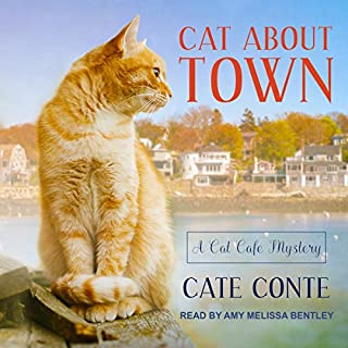 Cat About Town audiobook cover art