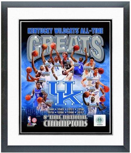 University of Kentucky Wildcats NCAA Framed Photograph Milestone Collage
