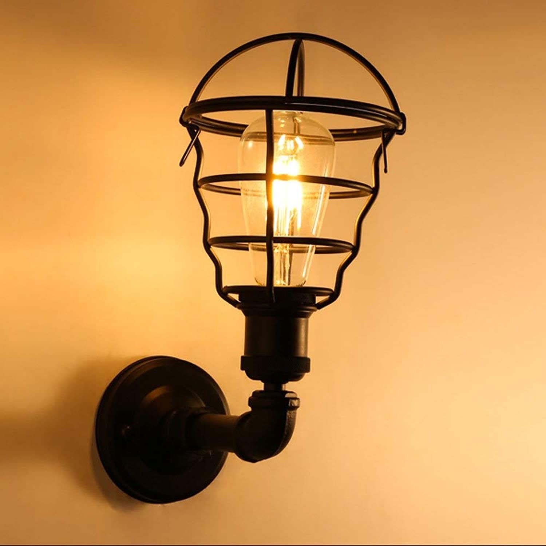 American Iron apliques Wall Lamps, Industrial Ajustable Iluminación LED Lámpara colgante Luz de parojo Moderno Vintage Pasillo Bar Mesa de comedor Aplique de parojo