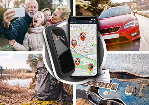 PAJ GPS Allround Finder Version 2020 GPS Tracker etwa 20 Tage Akkulaufzeit (bis zu 60 Tage im Standby Modus) Live-Ortung Peilsender für Auto, Personen - ABO VON 4,99 € / Monat ERFORDERLICH