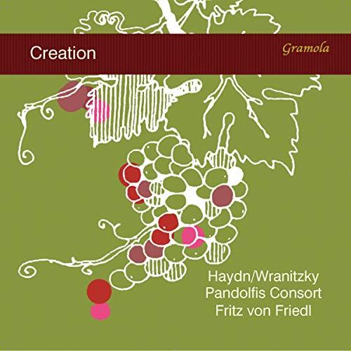Haydn : Die Schöpfung (transcription pour quintette à cordes). Friedl, Pandolfis Consort.
