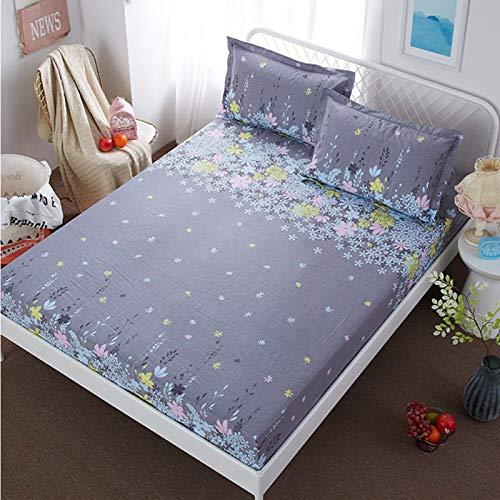 NHhuai Unterbett Soft-Matratzen-Topper, Matratzenschutz Boxspring-Betten geeignet Einteilige Tagesdecke für Kinder