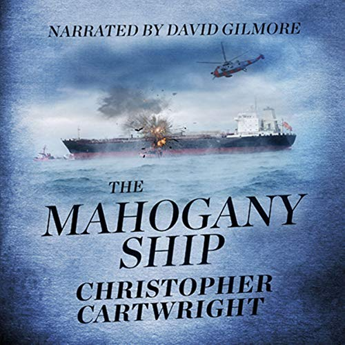 The Mahogany Ship audiobook cover art