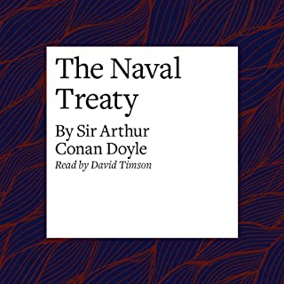 The Naval Treaty audiobook cover art