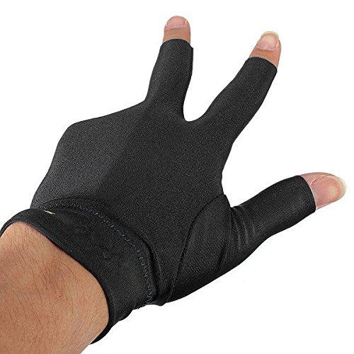 Bazaar Snooker Left Hand Billard Handschuh Billiard Three Fingers Glove