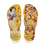 Havaianas Kids Slim Princess, Infradito Unisex Bambini, Multicolore (Banana Yellow 1652), 35/36 EU