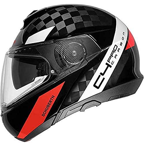 SCHUBERTH Unisex C4 Pro Carbon Motorradhelm, AVIO RED, 55 (S)
