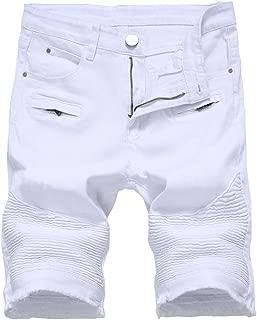 Men's Casual Denim Shorts (No Belt)