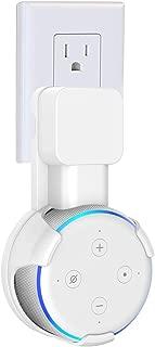 SPORTLINK Dot3 壁掛け ホルダー Dot 第3世代(Newモデル) スマート スピーカー マウント コード収納 スタンド カバー 保護ホルダー Dot3 ケース スピーカースタンド アクセサリー(ホワイト)