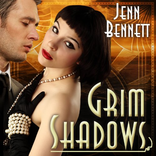 Grim Shadows audiobook cover art
