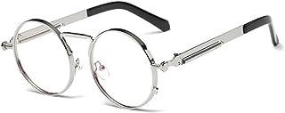 Yefree - Gafas redondas Gafas Gafas de sol Vintage Retro para hombres y mujeres Gafas