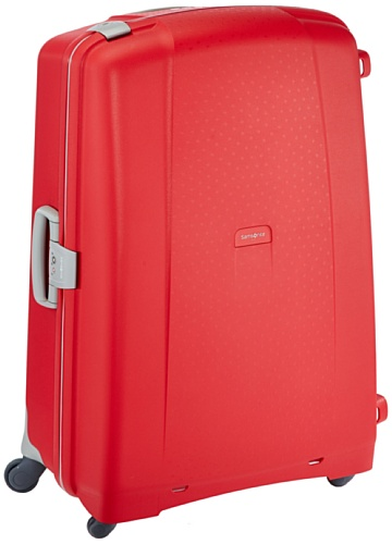 Samsonite Aeris Spinner XL Suitcase Luggage, 81 cm, 118.5 Litre, Red (Red)