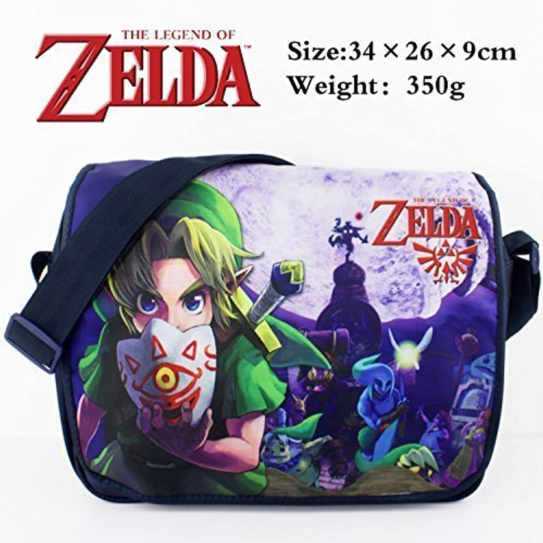 The Legend of Zelda Wallpapers Logo Anime Satchel Schoolbags Bag Cartoon Bag Backpack by Zelda