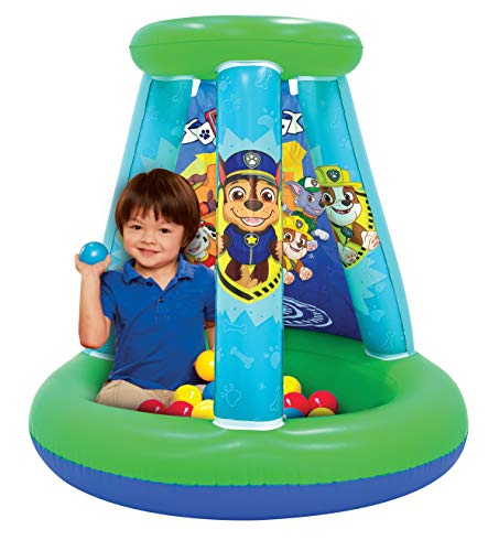 Paw Patrol Neutral Ball Pit, 1 Inflatable + 15 Sof-Flex Balls