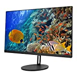 Dilwe1 Desktop PC Computer, 23.8in Monitor All‑in‑One PC Learning Training Computer, 8GB RAM +256GB 1920 x 1080P Resolution LED Screen RGB Computer PC Gaming for Win 7(i7-3520M)