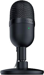 Razer Seiren Mini USB Streaming Microphone: Precise Supercardioid Pickup Pattern - Professional Recording Quality - Ultra-...