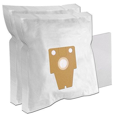10 Staubsaugerbeutel geeignet für BOSCH BSG81466/14 Ergomaxx Professional Compressor Technology Hepa