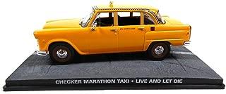 Die cast 1//43 Modellino Auto 007 James Bond Taxi Checker Marathon Live and Let D