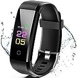 JKLH Smartwatch Orologio Fitness Uomo Donna Fitness Tracker, Tracker HR Activity Tracker, Smartband Sportivo Activity Tracker