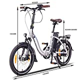Zoom IMG-2 ncm paris bicicletta elettrica pieghevole