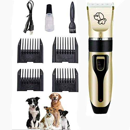 Zplyer Pet Shaver Clipper Hair Noise snoerloze elektrische keramische messen Dog Cat Grooming trimming goed cadeau voor honden en katten