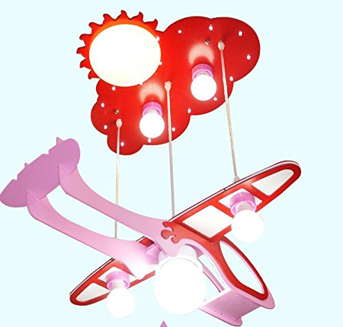 owow simple moderne salle pour enfants merveilleux et refroidir les avions la protection des yeux cartoon plafonnier pour les garçons ou filles séjour Décoration plein d'imagination, 630 * 200 * 230 mm