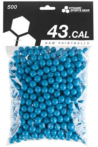 Dynamic Sports DSG RAM Paintballs Cal.43 100 Stück Blau