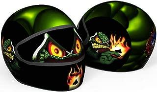 SkullSkins Ace Of Spades Universal Full Face Motorcycle Helmet Cover Skin