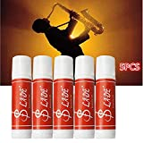 Leoie 5 Pcs Premium Cork Grease Delicate Smooth Waterproof for Clarinet Saxophone Oboe Flute Wind Instruments Parts & Accessory