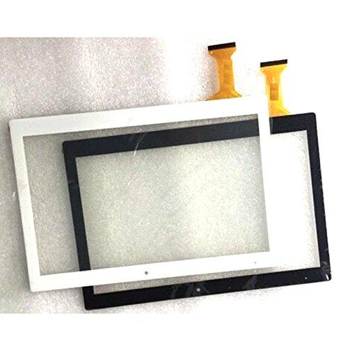 Blanco Color EUTOPING ® De Nuevo 10.1 Pulgadas Pantalla tactil Digital La sustitución de para 10.1