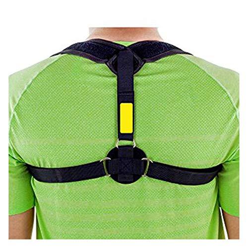 GJNWRQCY Corrector de Postura Postura Brace Ajustable enderezadora Volver Postura cómoda...