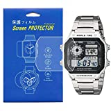 [3-Pcs] Screen Protector For Casio AE-1200 /...