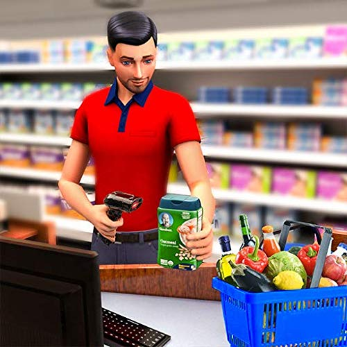 Shopping Mall Girl Cashier- Cash Register Games 3D