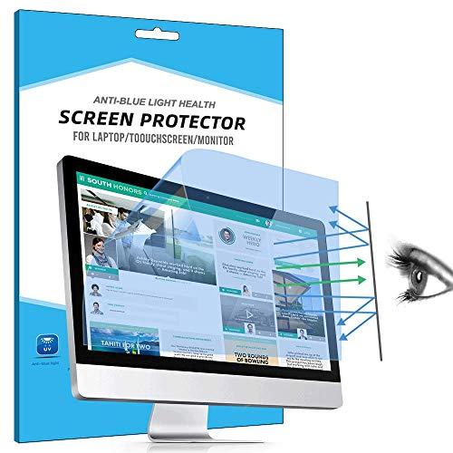 """FiiMoo Protecteur D'écran Anti-lumière Bleue pour 19 inch Bureau/Moniteur, [2 Pièces] filtrant Anti-éblouissant Protection des Yeux, Blocage de la lumière Bleue Protecteur d'écran (19"""" 5:4)"""