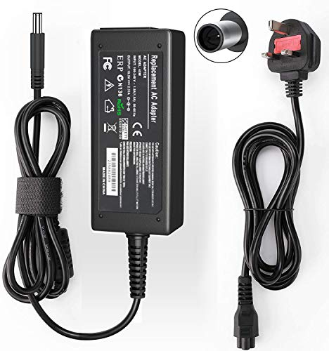 Dell 45W Laptop Charger 19.5V 2.31A AC Adapter Computer/Notebook Power Supply for Dell Inspiron 11 13 14 15 Series Power cord Tips:4.5mmX3mm