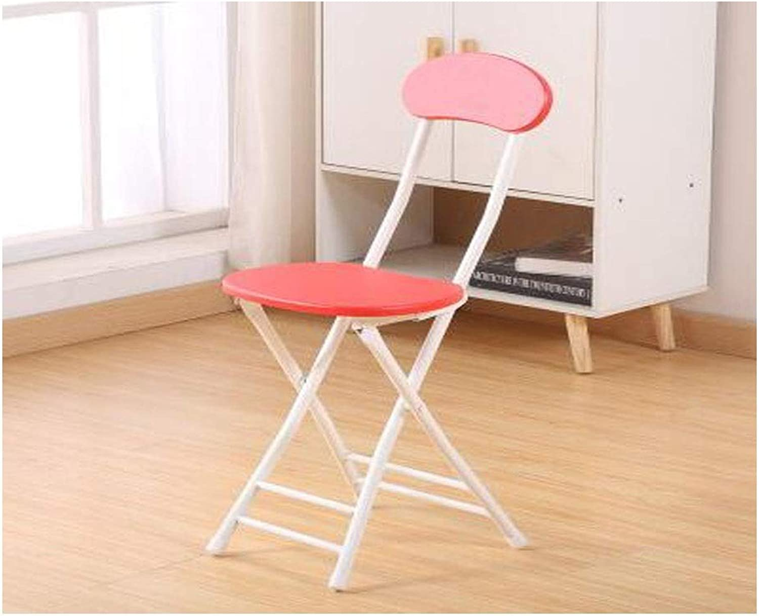Kaiyitong Folding Chair, Portable Fashion Chair, Simple Computer Chair, Suitable for Home, Restaurant, Office Training, Multi-color Optional Durable