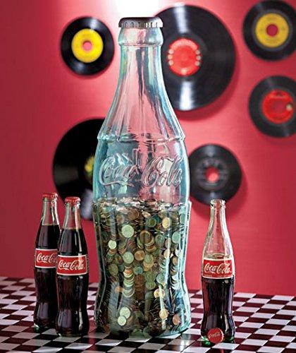 Jumbo Coca-Cola Coke Contour Bottle Coin Bank