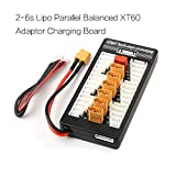 NIDICI XT60 Lipo Battery Charger 2-6S Parallel Balanced Charging Board Charging Plate for Imax B6AC 720i Lithium Batteries Charger Part