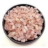 YSJJAXR Cristal Natural Rugoso Cristal Natural Espécimen de Grava Morgan's Piedra Decoración para el hogar Colorido para Acuario Healing Energy Stone Rock Mineral (Color : 100g 8 12mm)
