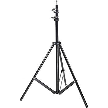 Neewer Soporte de Luz Estudio Fotografía Profesional para Luces Reflectores Fondos, Luz, Softbox, 260 Centímetros