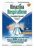 Respirabene - Tiritas nasales 10 clásicas grandes
