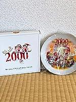 ペコちゃんポコちゃん 2000'Christmas限定 プレート
