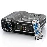 High-Tech Place Projecteur multimédia, lecteur DVD, Carte SD et port USB