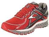 Brooks Adrenaline Gts 16 M Scarpe da corsa, Uomo, Multicolore (Black/Nightlife/High Risk Red), 42