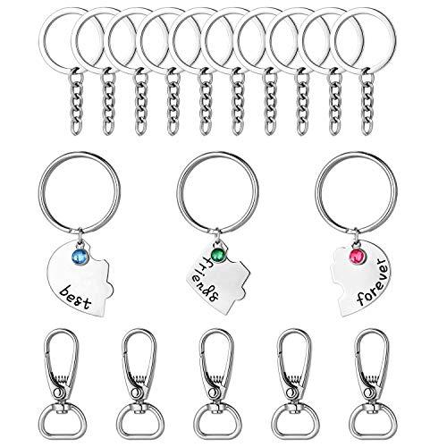 """Schlüsselanhänger mit Aufschrift \""""Best Friend\"""" und \""""Birthday\"""", Geschenk für den Schulabschluss, Weihnachten, Baby-Andenken - - Small"""