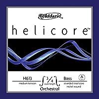 D'Addario ダダリオ ウッドベース(コントラバス)弦 H613 3/4M Helicore Orchestral Bass Strings / A-nickel 【国内正規品】